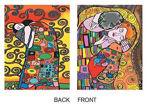 Colorvelvet 32 x 26.5 x 4 cm A4 Klimt Ring Binder (Multi-Colour) ()