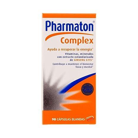 Amazon.com: PHARMATON Complex 90 CAPS - All- Natural - Gluten-Free Sugar-Free Multi-Vitamin Softgels - Improve Oxygenation & Prevents Fatigue: Health ...