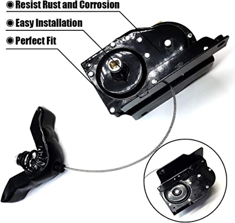 FEXON Spare Tire Winch Carrier Hoist Assembly for 1999-2007 Ford F-250 F-350 F-450 F-550Super Duty 924-528 6C3Z-1A131-AA
