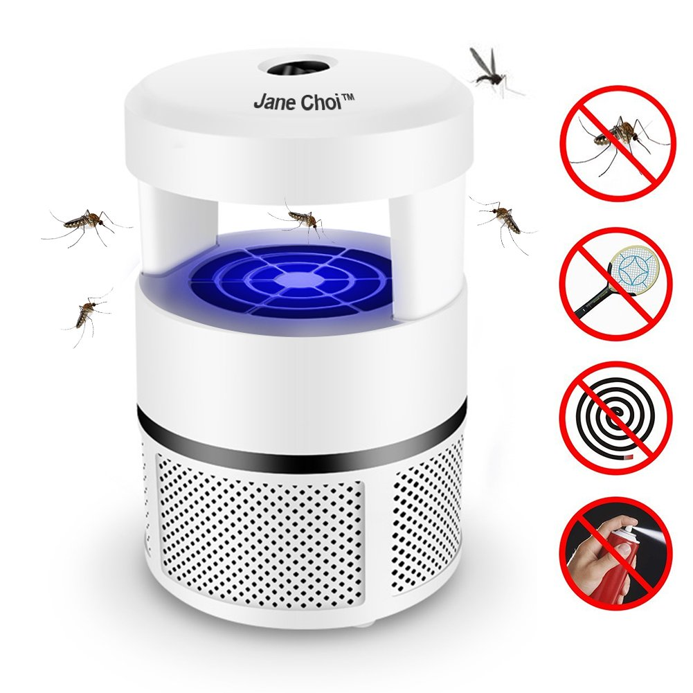 Jane Choi Bug Zapper, Electronic Mosquito Repellent Insect Killer LED Indoor Mosquitoes Fly Trap Pest Catcher for Home Kitchen Outdoor Garden Patio Yard
