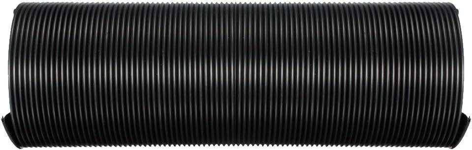 Gazechimp KFZ Luftfilter 75mm Kaltluft Ansaugschlauch Schlauchleitung Flexibel Schwarz