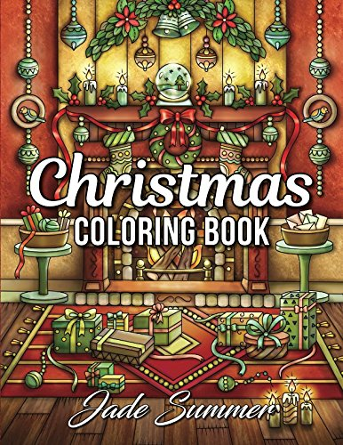 Christmas Coloring Book: An Adult Coloring Book with Fun, Easy, and Relaxing Coloring Pages -