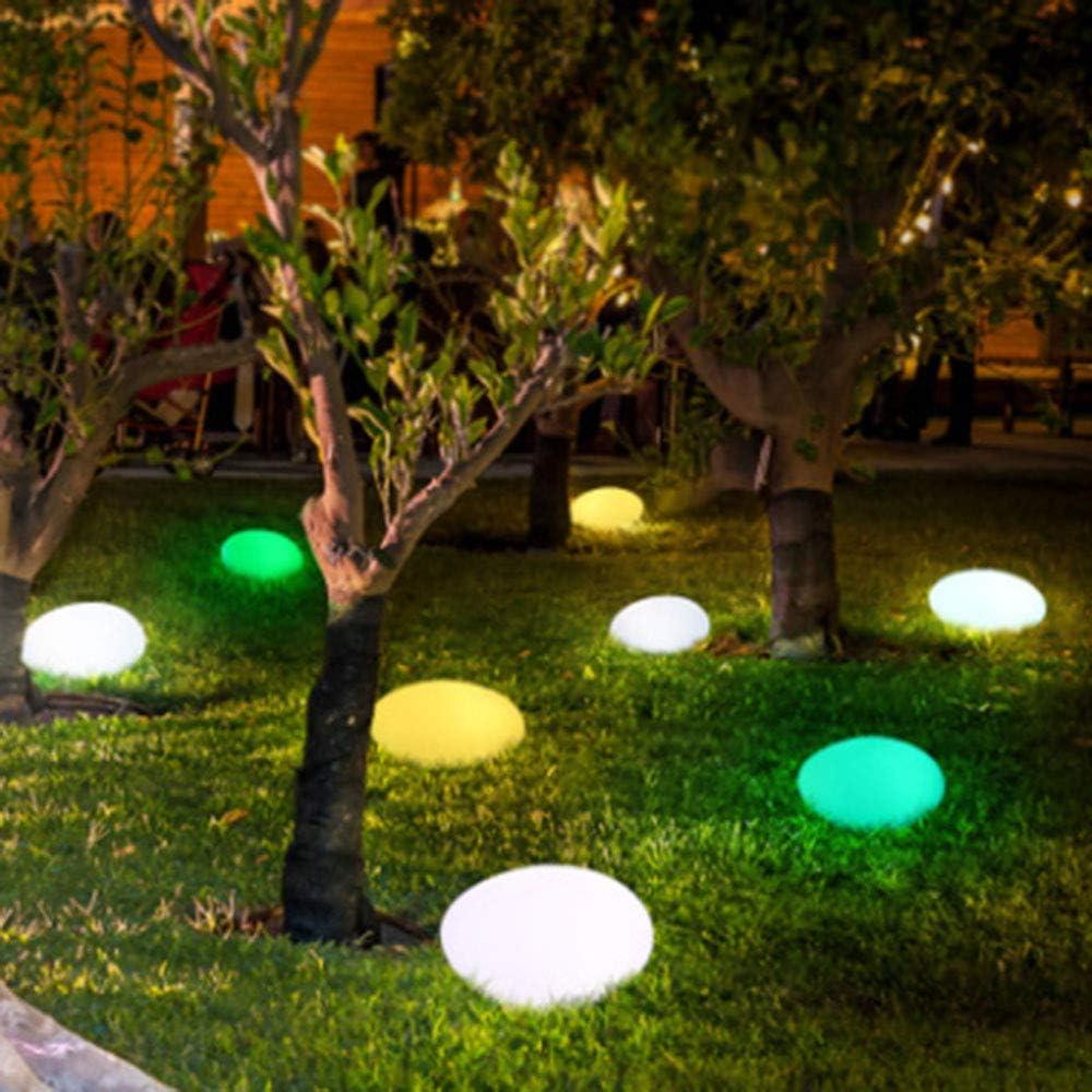 ZHOUAICHENG Lámpara de jardín de césped de adoquines simulación de Carga Anti-caída Impermeable lámpara de césped LED Decorativa en Forma de Piedra Decorativa,40x32xH22cm: Amazon.es: Hogar