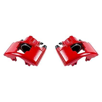 Amazon Com Ck00997 2 Front Performance Grade Red Powder Coated