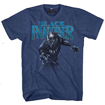 Marvel Black Panther On The Prowl Mens Graphic T-Shirt