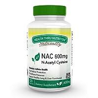NAC 600mg N-Acetyl Cysteine 120 vegecaps non GMO