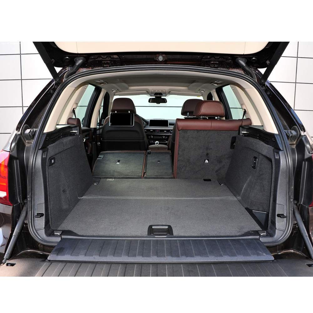 muchkey Cargo Box Liner Trunk mat for BMW X5 2014 2015 2016 2017 2018 Odorless All Weather Cargo Tray Liner Set,Guaranteed Fully Enclosed