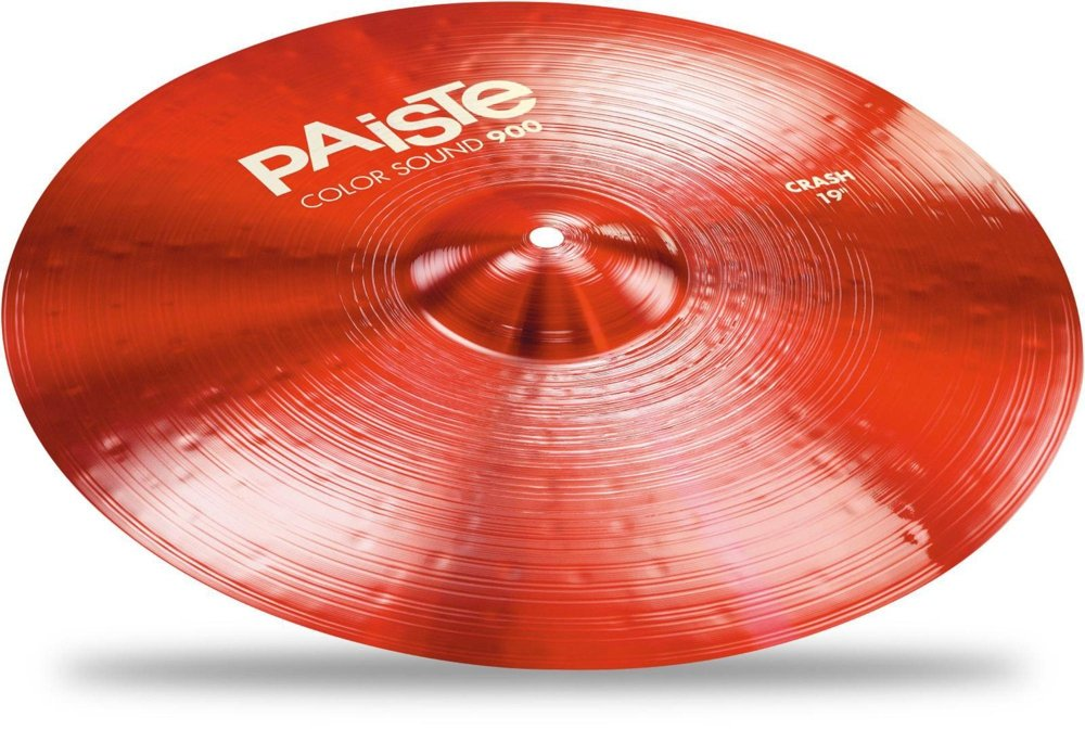 Paiste Color Sound 900 Crash Cymbal - 19'' Red