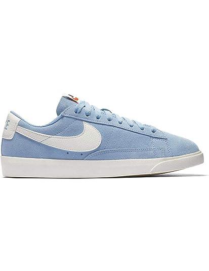 Zapatillas Nike Blazer Low Leche Azul Mujer 38 Azul: Amazon.es: Zapatos y complementos