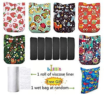 Lilbit 3 Rolls of Baby Cloth Diaper Biodegradable Flushable Viscose Liners (Can Be Used As Wet Wipes) LilBit Trading Co. Ltd YMXF01
