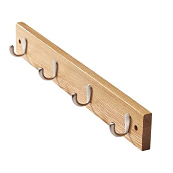 Amazon.com: YMJ Coat Rack, North American Oak Solid Wood ...