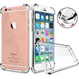 iPhone 6 | 6s Case - Super Flexible Clear TPU Case - Slim Crystal Rubber Cover Silicon Gel Phone Case