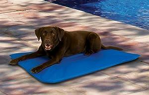 K&H Cool Bed 3 Blue Cooling Pet Bed Large