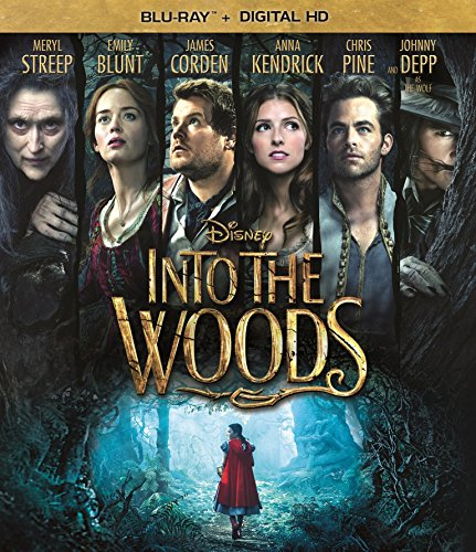 Blu-ray : Into the Woods (Dolby, AC-3, , Digital Theater System)