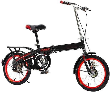 YEDENGPAO Bicicleta Plegable, De 20 Pulgadas Estudiante Adulto De ...