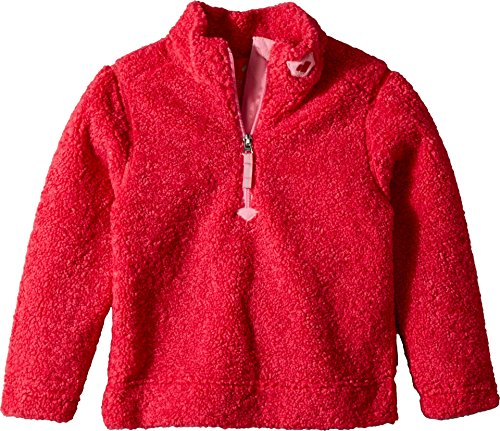 Obermeyer Kids Unisex Superior Gear Zip Top (Little Kids/Big Kids) Pink-Out (Obermeyer Red Sweater)