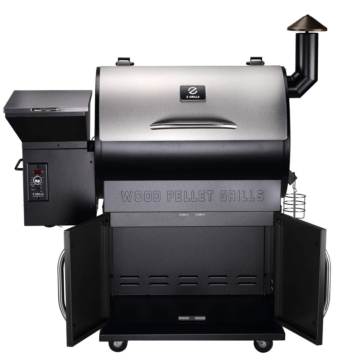 CHEAP Z GRILLS Wood Pellet Grill & Smoker with Upgraded ...