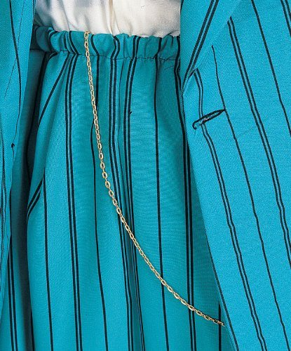 Rubie's Costume Co Zoot Suit Chain-Gold Costume by (Gold Zoot Suit Chain)