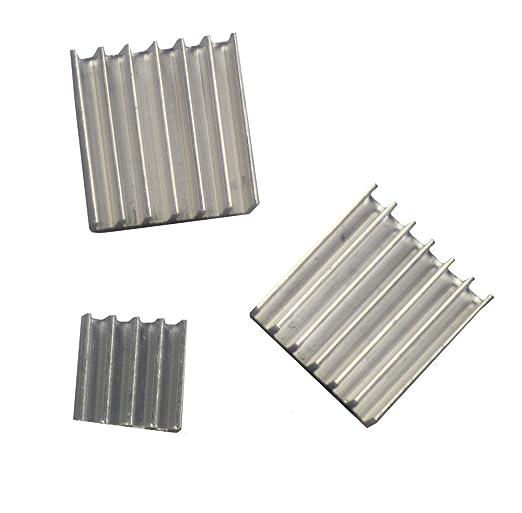 6 opinioni per Com-Four-Set di 2 grandi pozzi di calore passività in alluminio con superficie