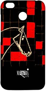 Macmerise Masaba Red Checkered Horse Sublime Case For Xiaomi Redmi 4