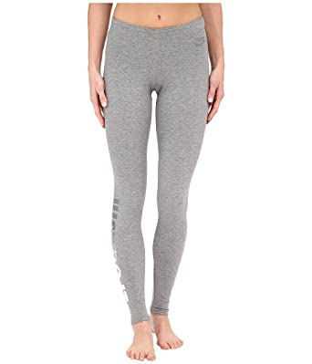 d584e8f2826c5 Nike Women's Leggings-A-See Just Do It Metal, Carbon Heather LG X 28 at  Amazon Women's Clothing store: