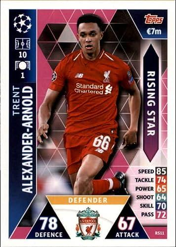 Topps Match Attax 2019//20 Tarjetas Individuales De Liverpool