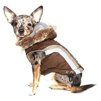 Hip Doggie hd-5sabr-m Abrigo para Perro Swiss Alpine, M, marrón: Amazon.es: Productos para mascotas
