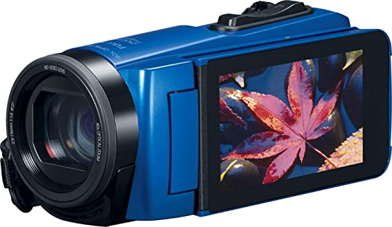 Canon VIXIA HF W10 Waterproof and Shockproof Camcorder (Blue)