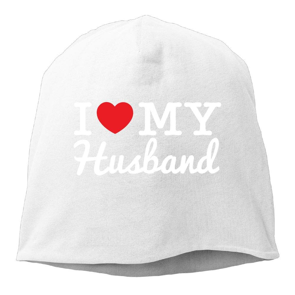 I Love My Husband-1 Men /& Women Winter Helmet Liner Fleece Skull Cap Beanie Hat for Hiking Black