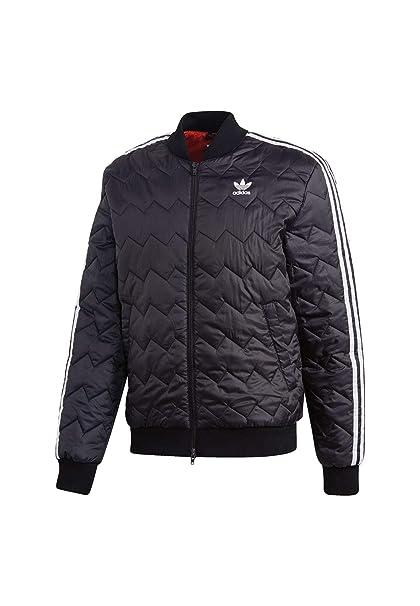 adidas Originals SST Quilted Jacke für Herren Rot