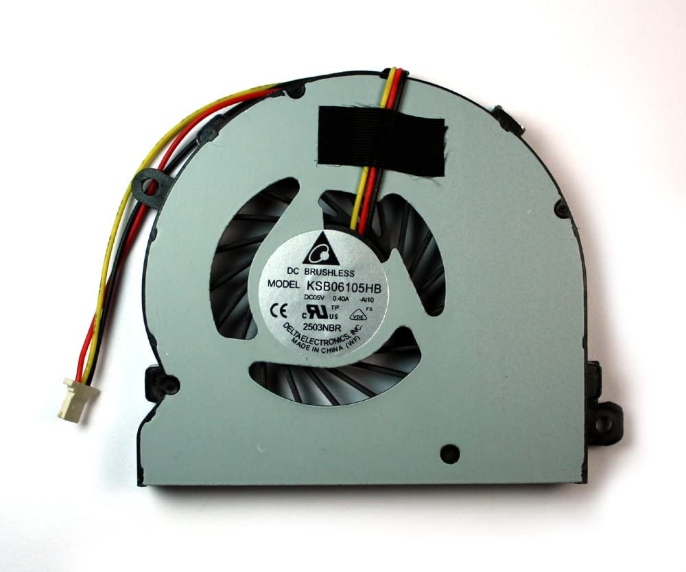 Power4Laptops Replacement Laptop Fan for Dell Inspiron 15 5545, Dell Inspiron 15 5547, Dell Inspiron 15 5547, Dell Inspiron 15 5548, Dell Inspiron 5445