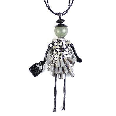 mehr Fotos schnelle Farbe genießen Sie besten Preis Merdia Herrenkette Lange Kette Halskette für elegante Damen ...