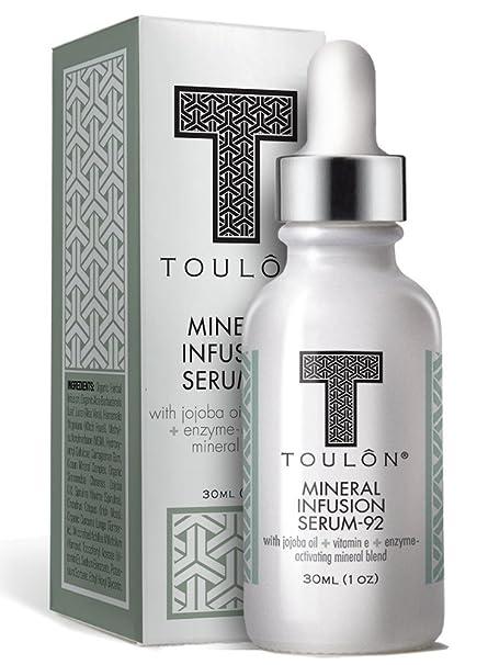 Firming Serum para cara, cuello y decollete con todos los minerales Natural Anti-Arrugas