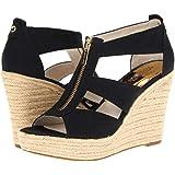 46acad673175 Michael Kors Womens Berkley Platform Wedge Open Toe Casual Platform Sandals
