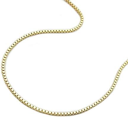 Latotsa 9 karat 375 Gelbgold Gold Kette Halskette