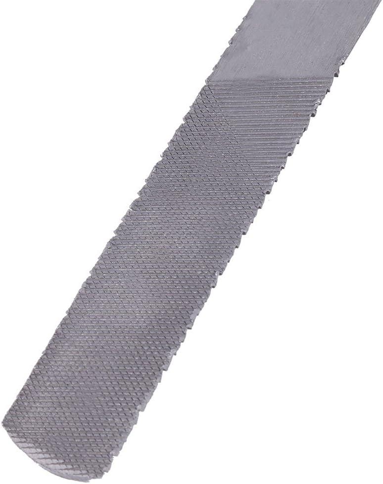 lime /à main R/âpe-lime 4 en 1 outil /à main en bois 4 en 1 R/âpe plate en acier de 8 po//200 mm Lime demi-ronde de menuiserie pour bois