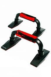 【VALLEX】プッシュアップバー 市場最大荷重 320kg 滑り止めラバー付き 腕立て伏せ シットアップ 吸盤 筋肉トレーニング ダイエット 2 個セット