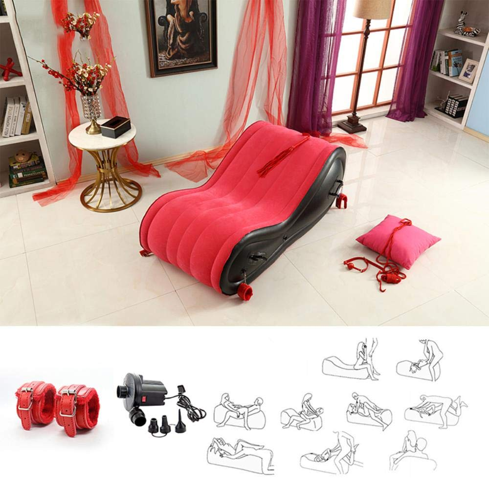 Inflatable Sofa Bed US Warehouse shipments Sex Toys for Couples Love Sex Chair Pillow Adult Sex Furniture