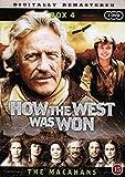 How the West Was Won (Season 3 - Part 1) - 3-DVD Set #4 ( How the West Was Won - Season Three - Part One (The Macahans) ) [ NON-USA FORMAT, PAL, Reg.0 Import - Denmark ]