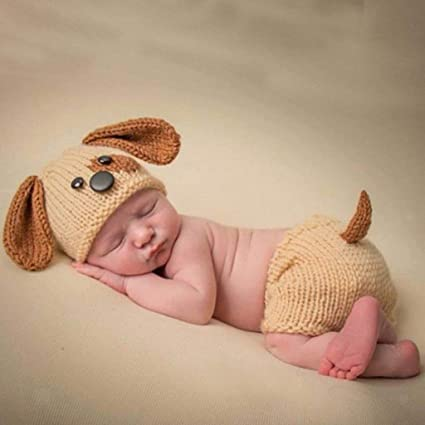 d839e9590d5 ELECTROPRIME Baby Infant Animal Puppy Dog Beanie Photo Crochet Knit Costume Hat  Cap Prop - Buy ELECTROPRIME Baby Infant Animal Puppy Dog Beanie Photo ...