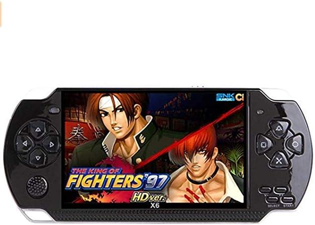 IDE Play Consola de Juegos portátil, portátil Consola de Videojuegos 4,3 Pulgadas 8GB 10000 Juegos portátiles Regalos Consola MP4 Retro para Adultos y Niños,Negro: Amazon.es: Hogar