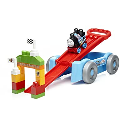 Mega Bloks Thomas Racin' Railway Wagon Building Set: Toys & Games