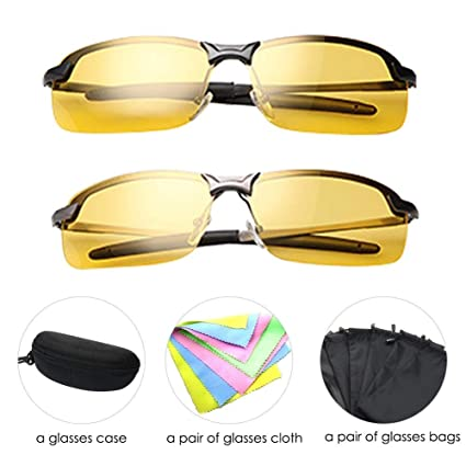 ea9a75fd92a7 Anti-Glare Polarized Night Vision Driving Glasses Sunglasses for Headlight  Men Women hd Sight Comfortable