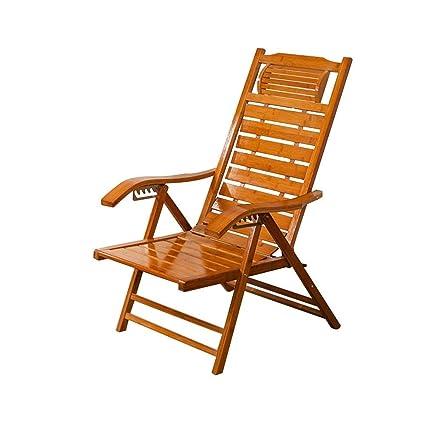 Admirable Amazon Com Wxf Deck Chairs Portable Bamboo Multi Position Inzonedesignstudio Interior Chair Design Inzonedesignstudiocom
