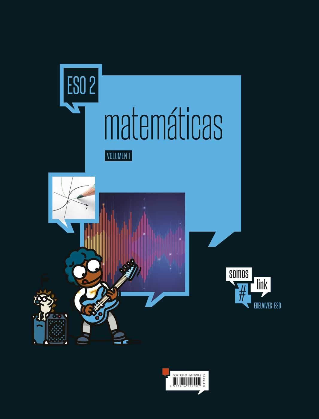 Matematicas Tres Volumenes - 2º ESO Somoslink - 9788414002902 ...