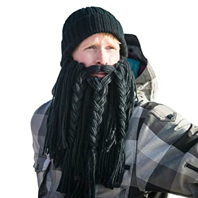83f782fe530 Image Unavailable. Image not available for. Color  BEARDO - Long Viking  Beard Hat (Adult)
