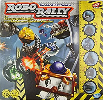 Avalon Hill / Wizards of the Coast B89051000 Robo Rally Edition 2016 - Juego de Mesa: Amazon.es: Juguetes y juegos