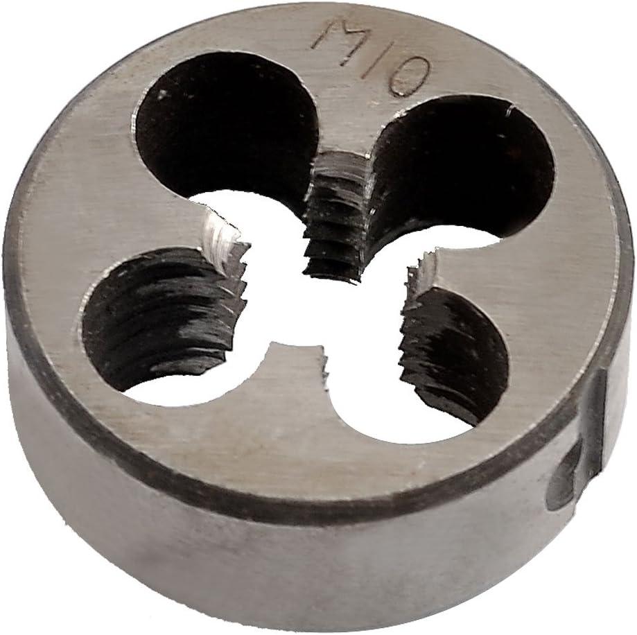 Aexit M10 Pas 1,5 mm OD 30 mm /à main ROND moul/é sous pression 275O984