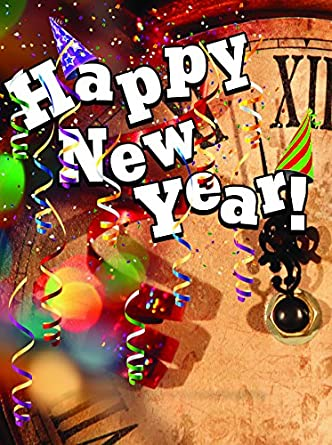 Happy New Year Insert for Snap Loc & Curb Spring Signs (55\