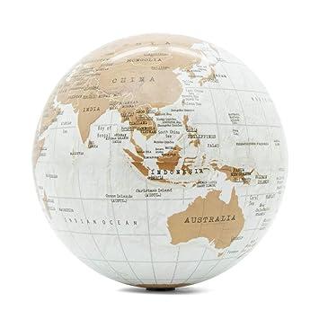 Globo terráqueo giratorio - Mapa del mundo autogiratorio ...